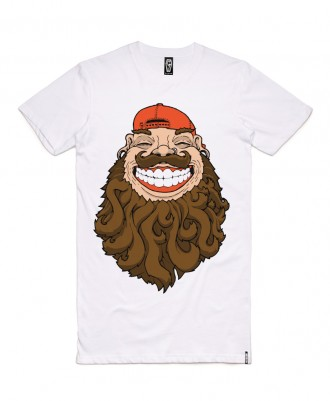 Skelter Clothing Beardfear Tee Front