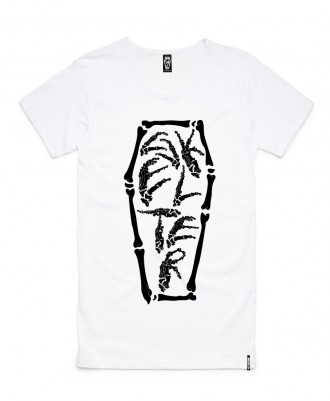 Skelter Clothing Skelterbones Tee Front