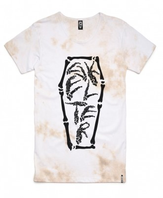 Skelter Clothing Skelterbones Mud Wash Tee Front